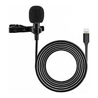 Петличный микрофон для iPhone, iPad с разъемом Lightning Alitek iMic