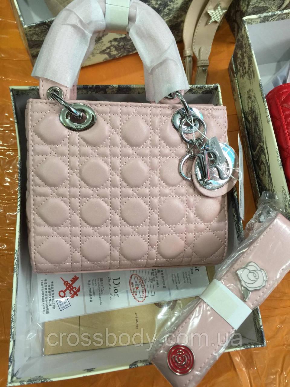 Леди Dior в коробке, пыльнике , док-ты Широкий ремень с эмаль значками Dior  Брелок в комплекте
