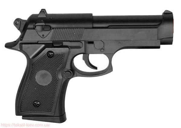 Пистолет металлический ZM 21 на пульках