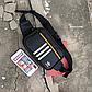 Поясная сумка Adidas из PU кожи. Бананка на пояс Adidas., фото 3