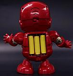 Танцующий робот | Интерактивная игрушка IRON MAN | Танцующий железный человек, фото 3