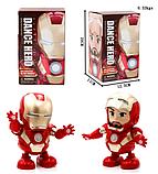 Танцующий робот | Интерактивная игрушка IRON MAN | Танцующий железный человек, фото 2
