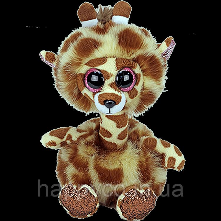 """Мягкая игрушка TY Beanie Boo's 36382 Жираф """"Gertie"""" 15см"""