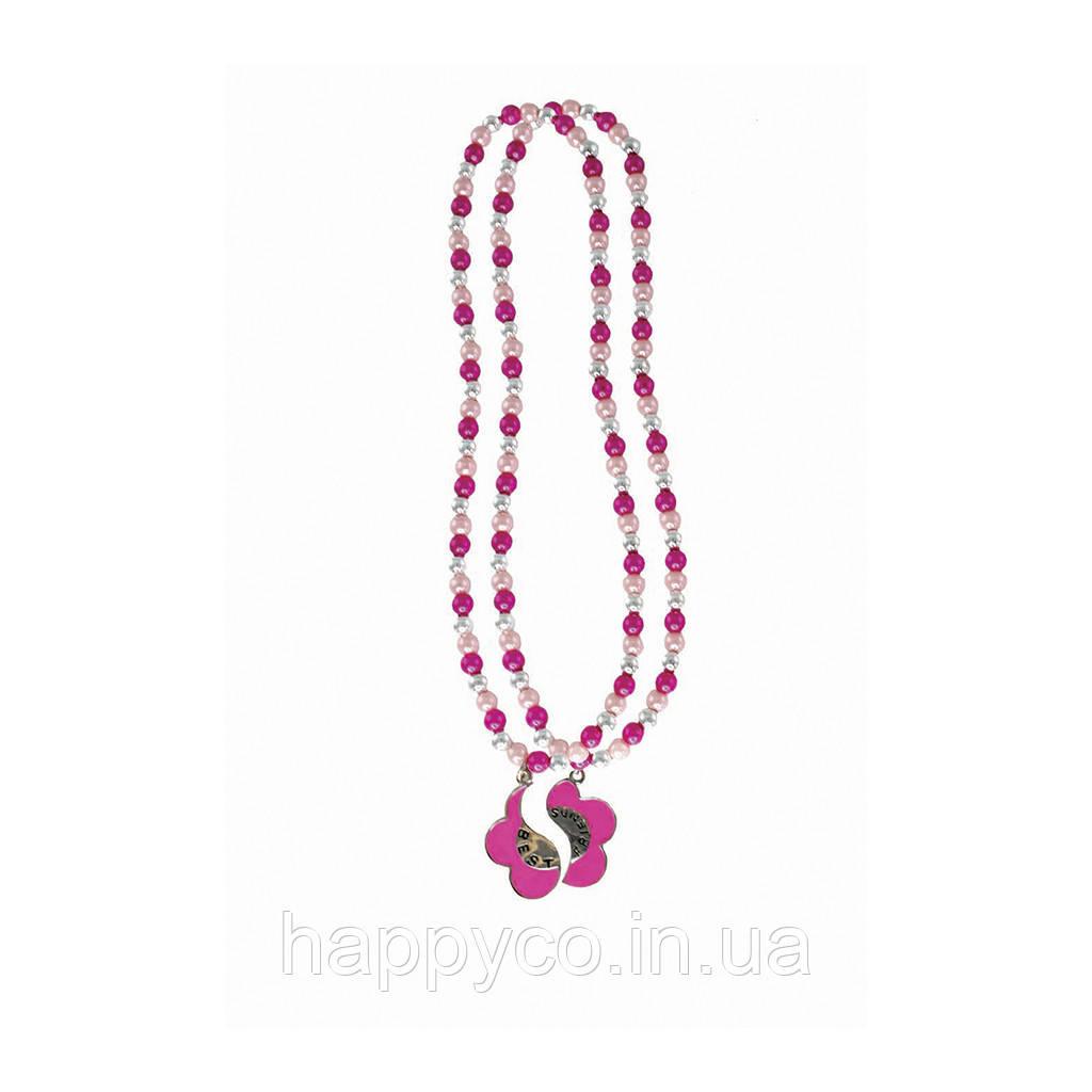 Бижутерия детская набор ожерелий для подружек