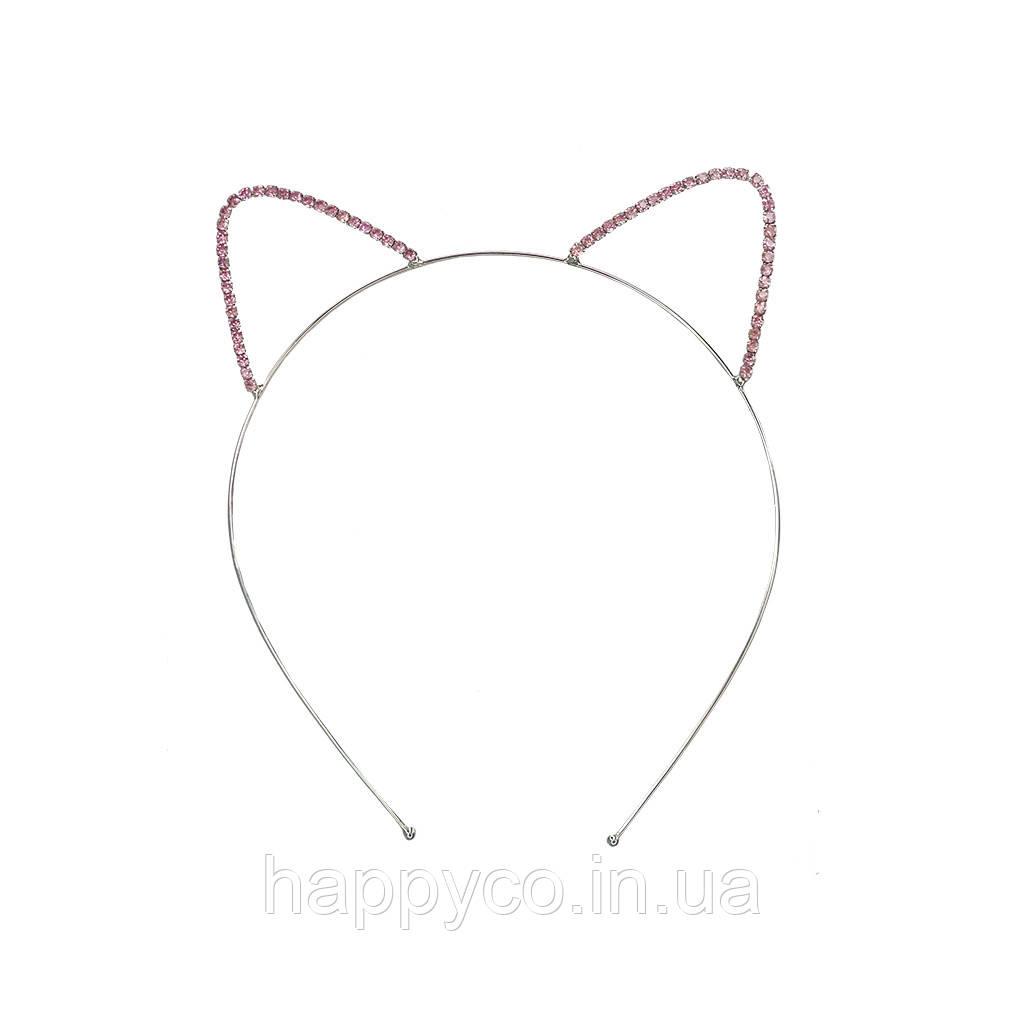 Обруч для волос кошачьи ушки