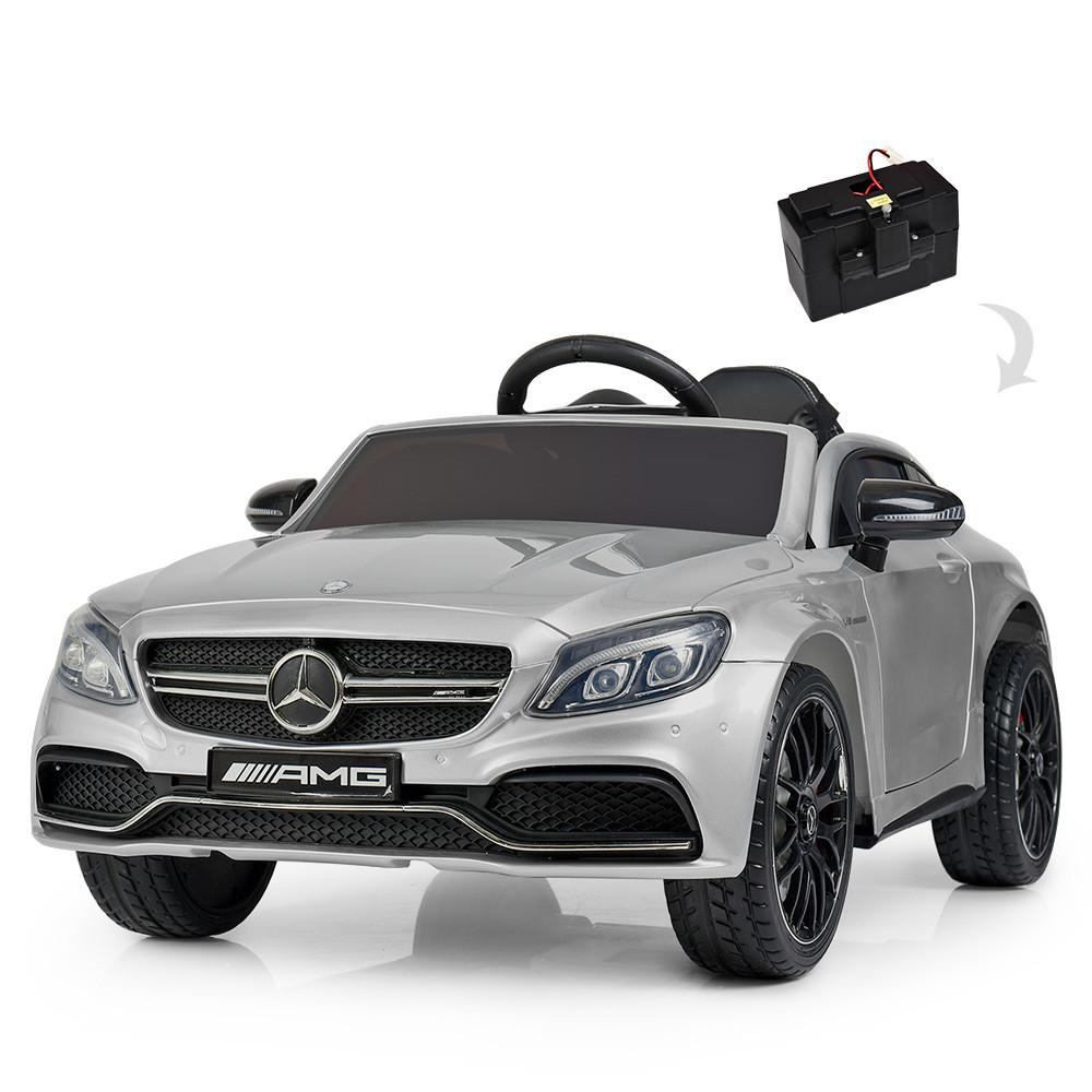 Електромобіль дитячий Mercedes M 4010 Мерседес, Сірий фарбований