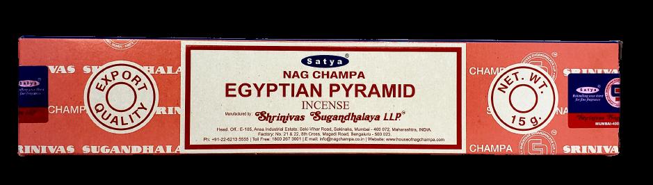 Натуральные пыльцовые ароматические палочки Наг Чампа Египетские Пирамиды очарование востока