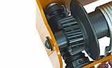 Лебедка червячная MANIBOX VS 2000 кг, кабель 17 м - модель с окрашенной рамой, фото 7