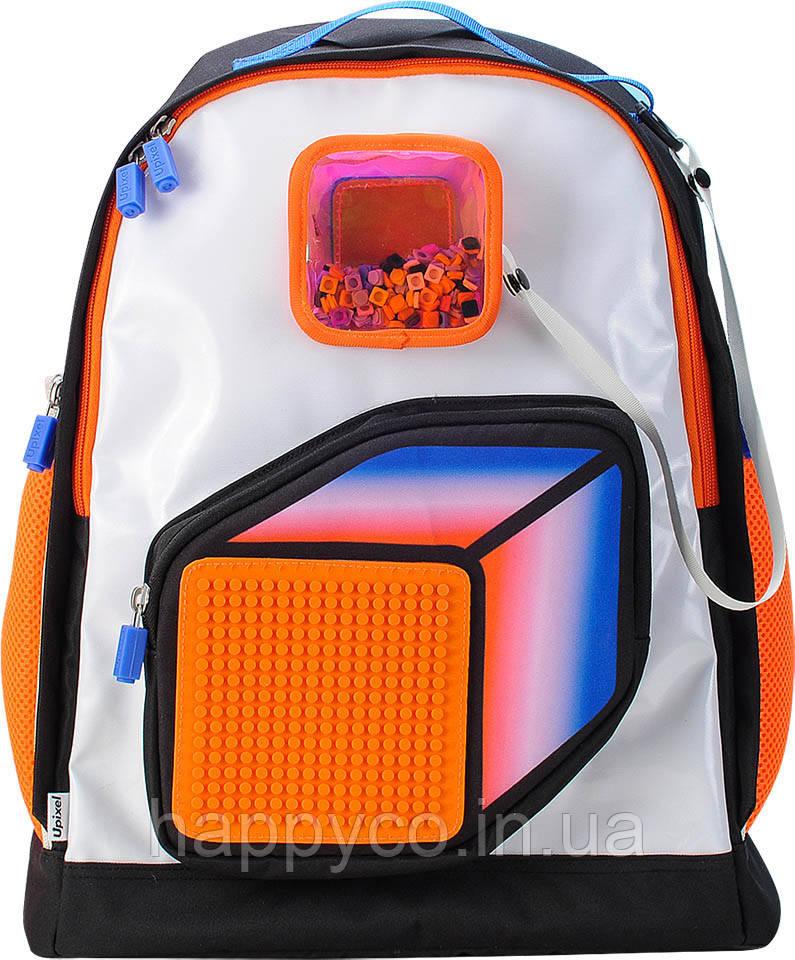 Рюкзак Upixel Model Answer оранжево-белый