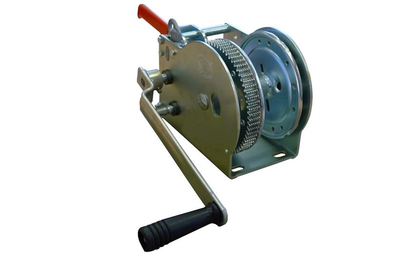 Ручная буксирная лебедка HUCHEZ 16Н2Ф, усилие 1556 кг