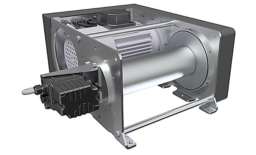 Лебедка электрическая HUCHEZ PRIMO INOX 250 кг-однофазная версия