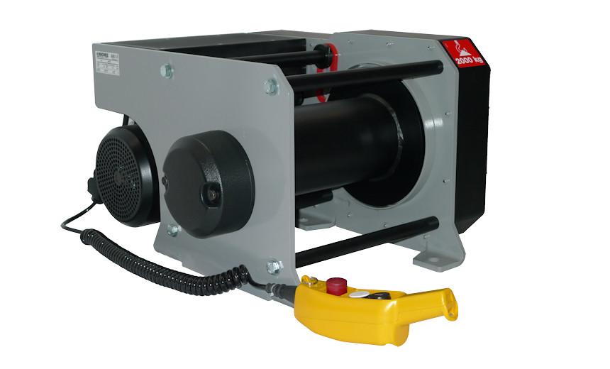 Лебедка электрическая HUCHEZ PRIMO 2000 кг - регулятор низкого напряжения, трехфазный