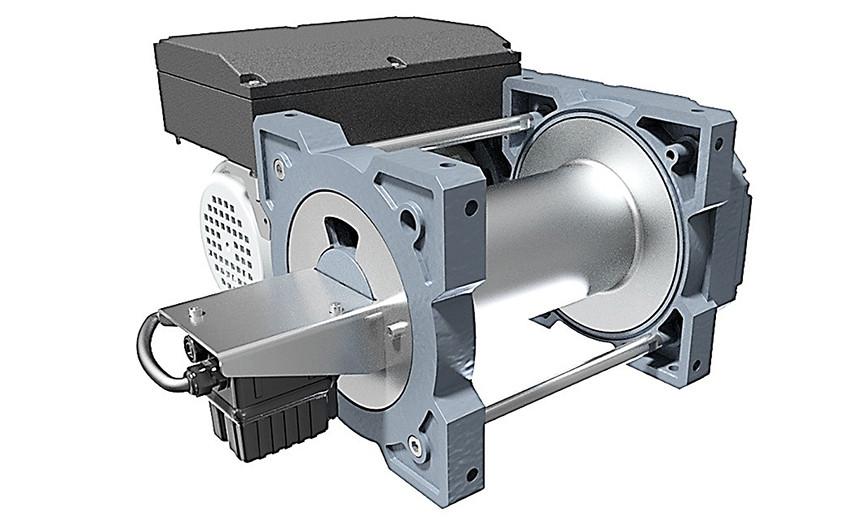 Лебедка электрическая HUCHEZ TRBoxter INOX версия из нержавеющей стали 990 кг