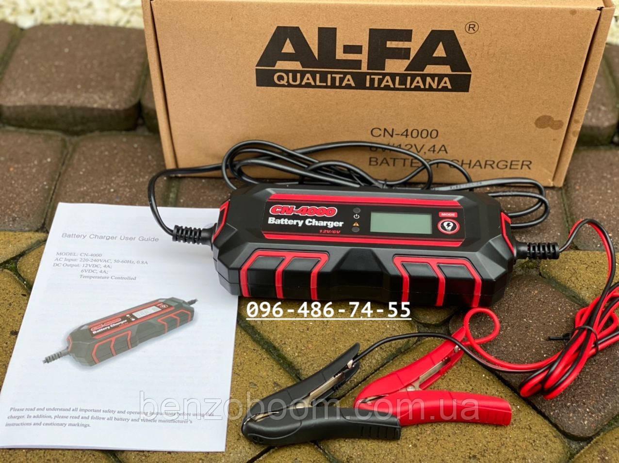 Импульсное зарядное устройство Al-Fa CN4000