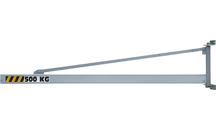 Кран консольный настенный с полым рельсом  HUCHEZ Alu 900A, усилие 500 кг
