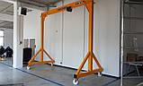 Передвижной козловой кран HUCHEZ Gantry 919 - усилие 5000 кг, фото 6