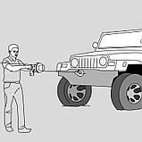 Переносная мини-лебедка HUCHEZ PULLEY-MAN 300 кг, фото 7
