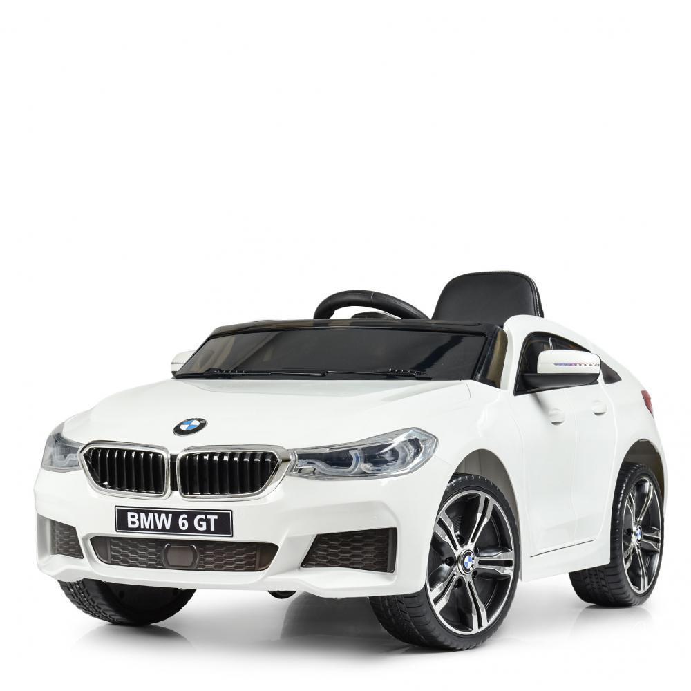 Машина BMW 6 GT БМВ JJ 2164 EBLR, Білий