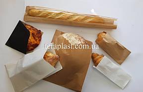 Бумажные пакеты саше для еды белые жиростойкие 90*50*220, фото 3