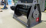 Лебедка электрическая HUCHEZ ортогональная /1 скорость/ PL9000 кг/7м/мин, фото 2