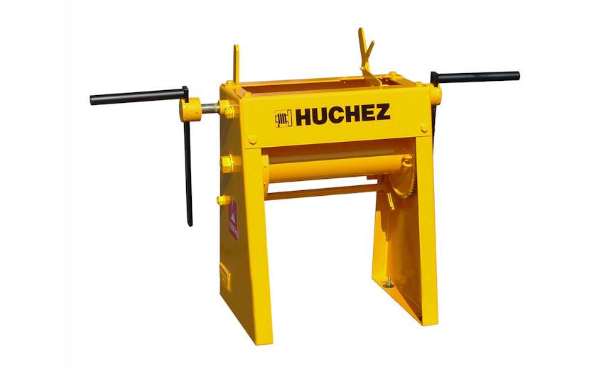 Лебедка тяговая крабовая шестеренчатая  HUCHEZ 659 г / п 1500 кг