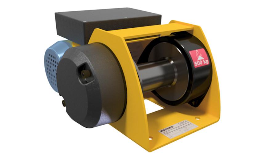 Лебедка электрическая HUCHEZ MOTORBOX 150 кг - управление очень низким напряжением