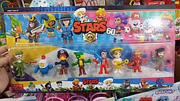 Герои набор фигурок Бравл Старс Brawl Stars 60 Series из 8-ми штук в блистере 200952