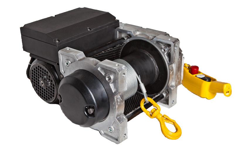 Лебедка электрическая HUCHEZ TRBoxter 1500 кг- 10 м /мин,низковольтное управление с преобразователем