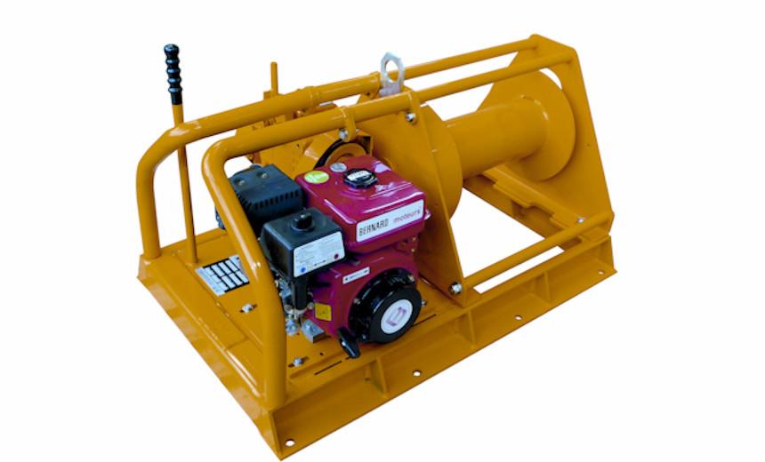 Лебедка бензиновая HUCHEZ TS 300 кг