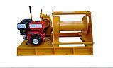 Лебедка бензиновая HUCHEZ TS 300 кг, фото 7