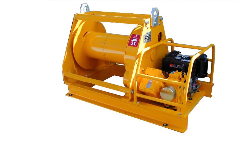 Лебедка дизельная HUCHEZ TD 5000 кг