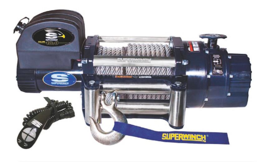 Лебедка электрическая HUCHEZ для грузовых автомобилей 12 В TALON 14,0 6350 кг
