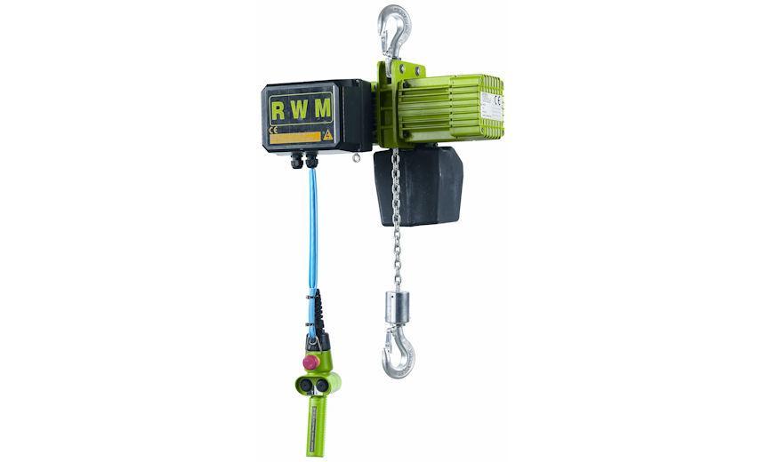 Таль электрическая HUCHEZ однофазная 481 - 125 кг, 9 м / мин