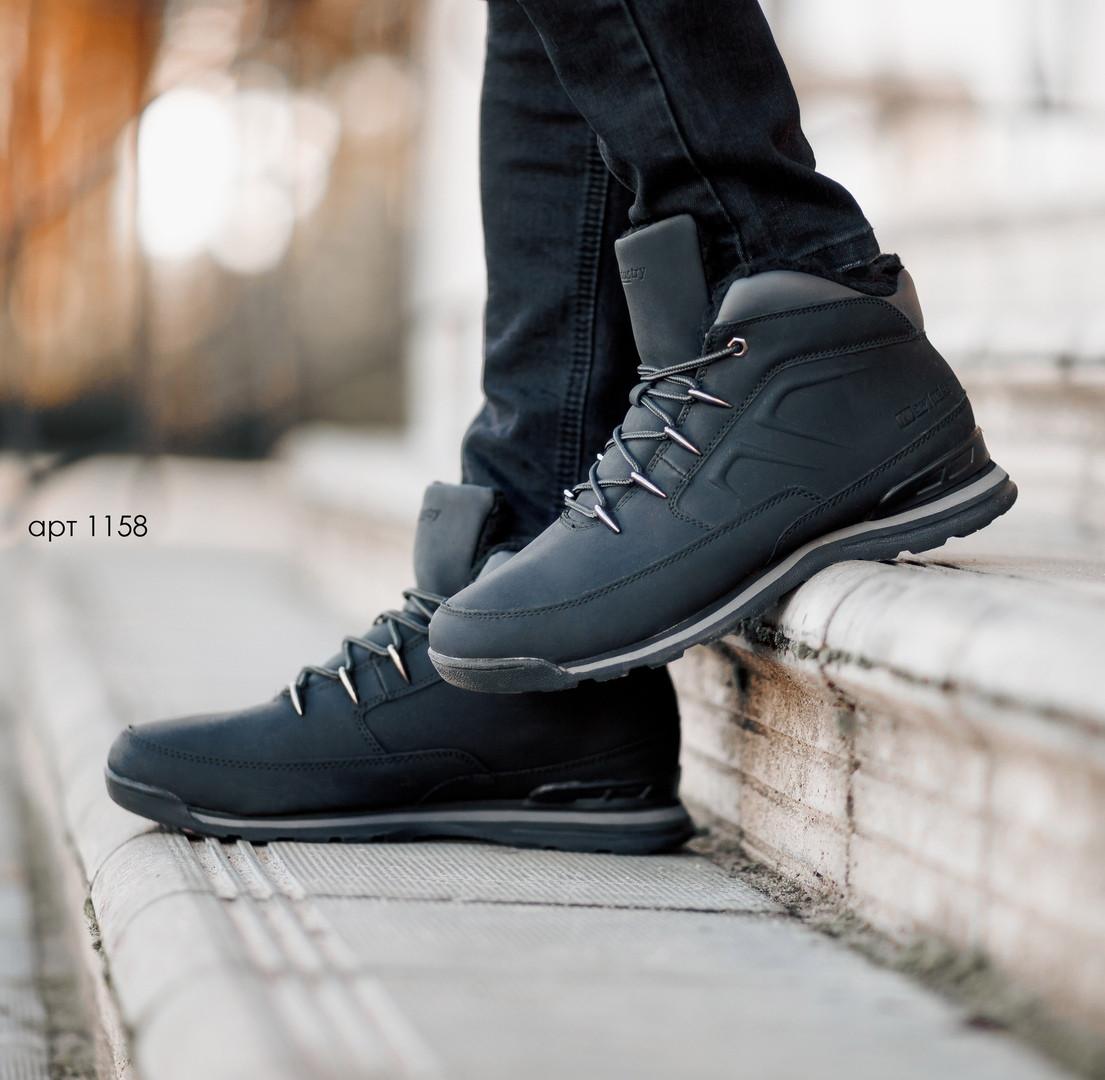 """Зимние ботинки с мехом Dragon Black """"Черные"""""""