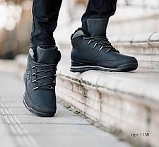 """Зимние ботинки с мехом Dragon Black """"Черные"""", фото 2"""