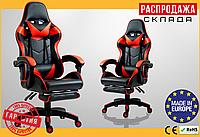 Компьютерное Игровое Кресло Геймерское для Геймера до 130 кг Vecotti GT Красное ПОЛЬША