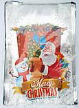 Пакеты фольгированные  для конфет Новый год размер  20*30 см, фото 4
