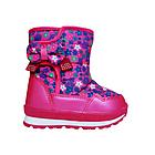 Детские зимние сапожки- дутики Том м для девочек, р. 23, 26, 27,28  Розовые теплые ботиночки, фото 3