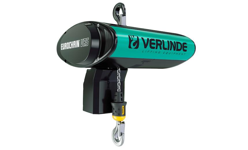Таль электрическая HUCHEZ двухскоростная 478 -160 кг, 8/2 м/мин, фиксированная подвешенная на крюке