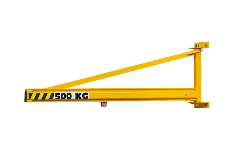Кран консольный настенный с верхней тягой HUCHEZ 900, усилие 80 кг.