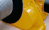 Лебедка электрическая HUCHEZ с большой грузоподъемностью TE 2600 кг/4м /мин, 1 скорость, фото 4