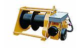 Лебедка электрическая HUCHEZ с большой грузоподъемностью TE 2600 кг/4м /мин, 1 скорость, фото 6