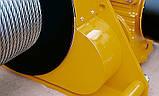 Лебедка электрическая HUCHEZ с большой грузоподъемностью TE 2600 кг/8м /мин, 1 скорость, фото 4