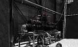 Лебедка электрическая HUCHEZ коаксиальная PL1500 кг/28м/мин/регулятор скорости, фото 6