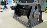 Лебедка электрическая HUCHEZ ортогональная /регулятор скорости/ PL3000 кг/36м/мин, фото 2