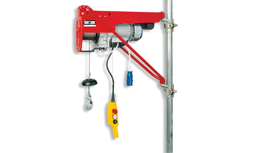 Усиленная стойка электрической лебедки для выноса и эстакады  HUCHEZ HE 200 APS