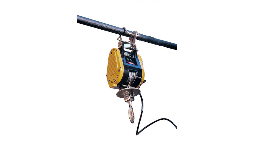 Переносная электрическая мини-лебедка HUCHEZ  PALANBOX 230 кг