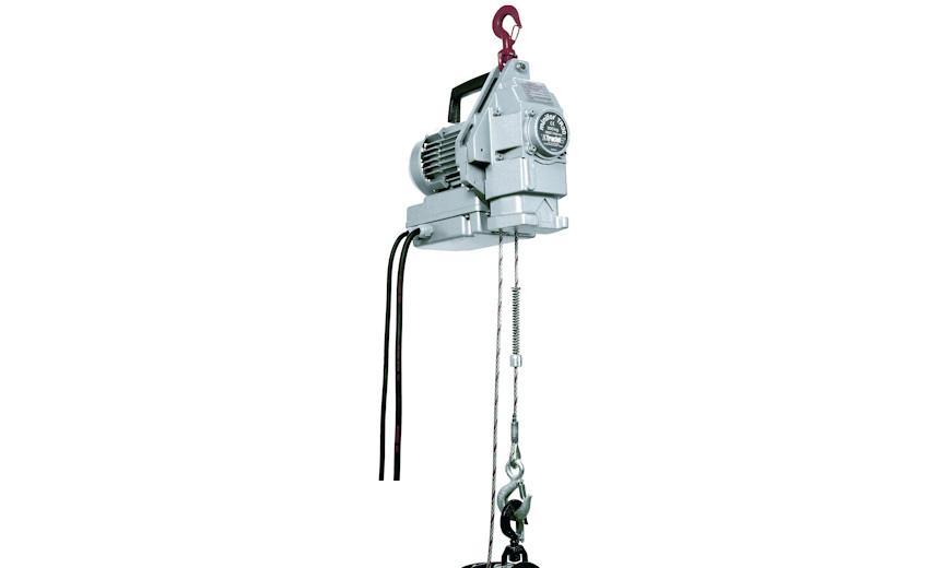 Электрическая лебедка HUCHEZ с подводящим тросом MINIFOR 300 кг, однофазное питание
