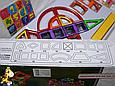 Конструктор магнитный Magnetic Sheet Цветные магниты Динозавры 106 дет, фото 4