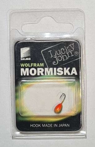 Мормышка вольфрамовая Salmo LJ Капля 802040-14/1 с отверстием, фото 2